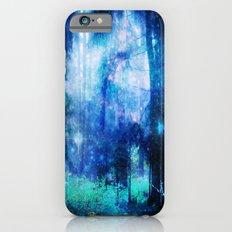 Blue night #Wood Slim Case iPhone 6s