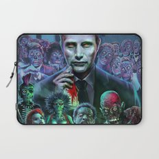 Hannibal Holocaust - They Live Return of the Living Dead Mads Mikkelsen Laptop Sleeve