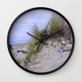 Waldport Oregon - Sand Time Wall Clock
