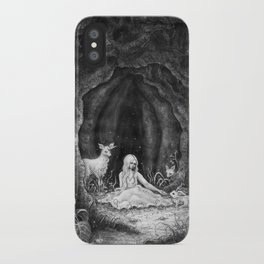Forest nymph iPhone Case