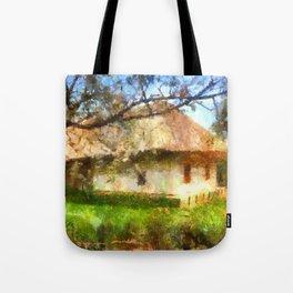 old Ukrainian house  Tote Bag