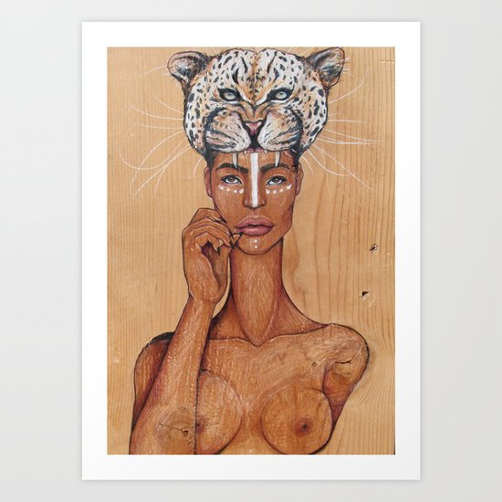 Ayaba of Africa Art Print
