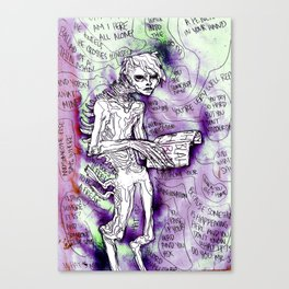BLAH BLAH BLAH Canvas Print