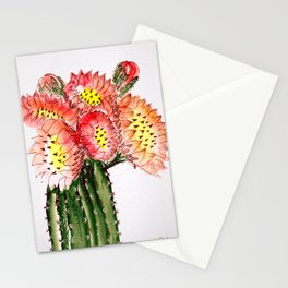 Blooming Cacti Stationery Cards