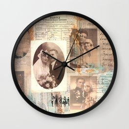 And They Lived Happily Ever After... Wall Clock