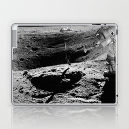 Apollo 16 - Moon Astronaut Crater Laptop & iPad Skin