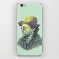 sherlock holmes iPhone & iPod Skins featuring sherlock holmes by Doruktan Turan