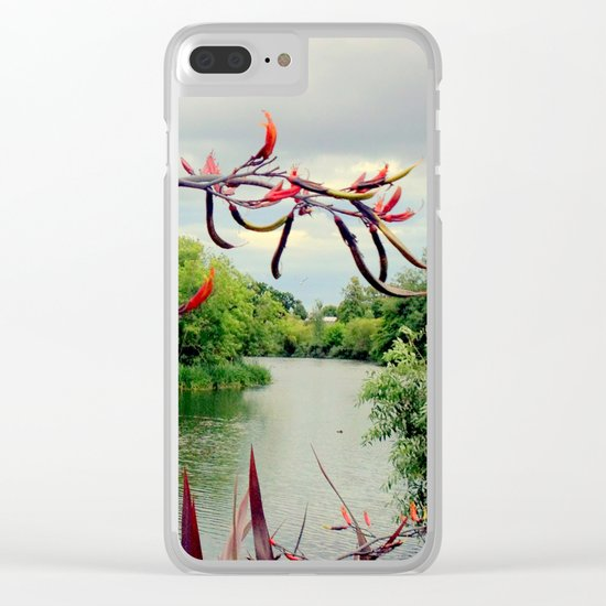 Landscape | The River | Dublin | Ireland Clear iPhone Case
