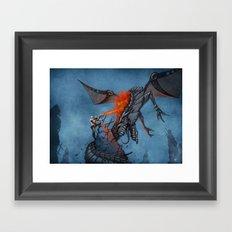 Chasing the Dragon Framed Art Print