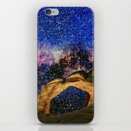 Broken Arch Night Sky Design iPhone Skin