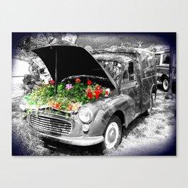 Minor Florist Canvas Print