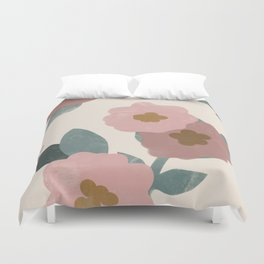 Simple Flowers Duvet Cover