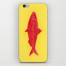 Swedish Fish iPhone Skin