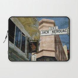 Jack Kerouac Alley and Vesuvio Pub Laptop Sleeve