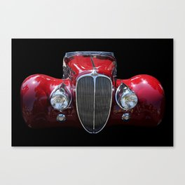 Delahaye Red Canvas Print