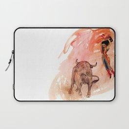 Bullfighter Laptop Sleeve