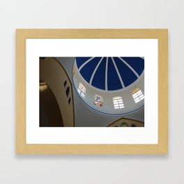 Cathedral's Dome Framed Art Print