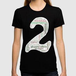 Life Path 2 (black background) T-shirt
