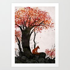 Fantastic Mr. Fox Doesn't Feel So Fantastic Anymore Art Print