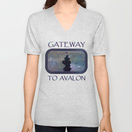 Gateway to Avalon Unisex V-Neck