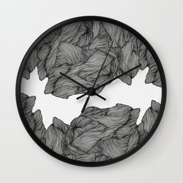 Line ridge Wall Clock