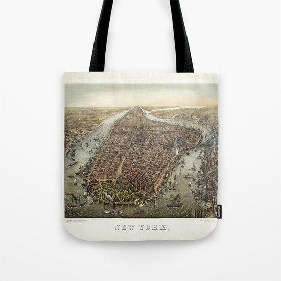 New York 1870 Tote Bag
