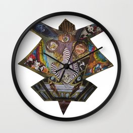 Pharaoh of Death Wall Clock