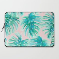 Paradise Palms Blush Laptop Sleeve