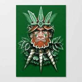 Wild Leprechan Canvas Print
