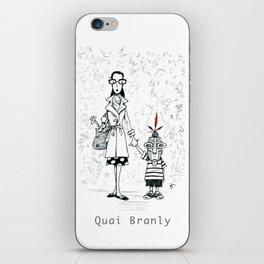A Few Parisians by David Cessac: Quai Branly iPhone Skin