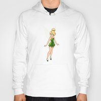 tinker bell Hoodies featuring Tinker Bell by Anais.Lalovi