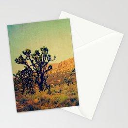 Joshua Trees in the California Desert Stationery Cards