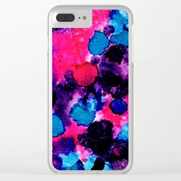 Mottled Clear iPhone Case