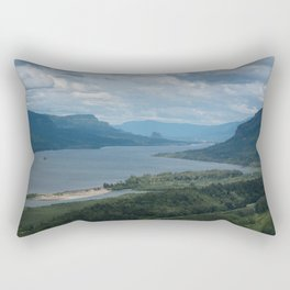 Columbia River Gorge From The Vista House Rectangular Pillow