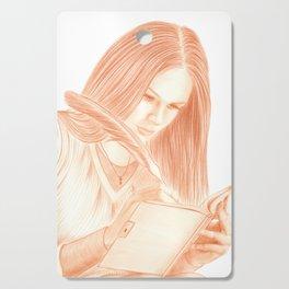 Dear Diary Cutting Board