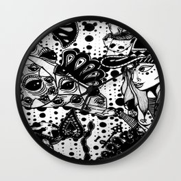 Galactic Projections  Wall Clock