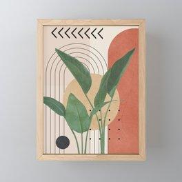 Nature Geometry V Framed Mini Art Print