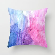 A color love story - part 2 Throw Pillow