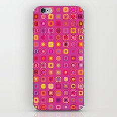 Retro in Pink iPhone & iPod Skin