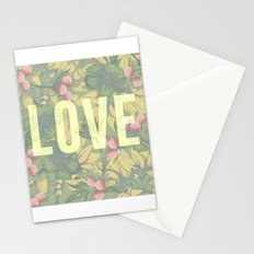 Love and Peaches Stationery Cards