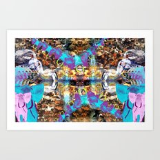 ANIMALIA Art Print