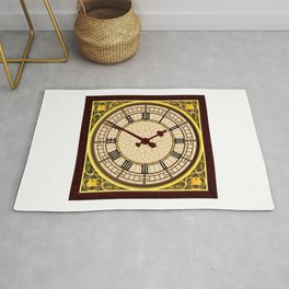 Big Ben at Clock Face Rug