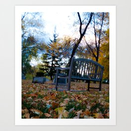 Autumn Rest Art Print