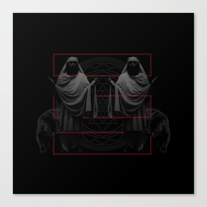 Black Sages Canvas Print