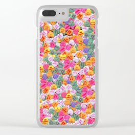 Sweethearts Clear iPhone Case