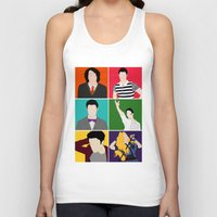 hedwig Tank Tops featuring From Harry To Hedwig by byebyesally