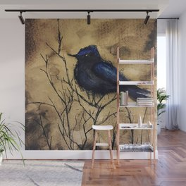 Just like those Bluebirds, I'll be Free Wall Mural