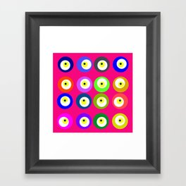 colors of attraction 6 Framed Art Print