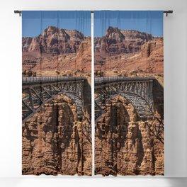 Navajo_Bridge - Marble_Canyon, Arizona Blackout Curtain