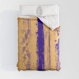 Gerhard Richter Inspired Abstract Urban Rain 4 Modern Art - Corbin Henry Comforters